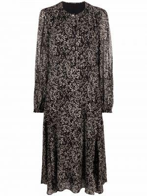 Платье макси с длинными рукавами - белое Luisa Cerano