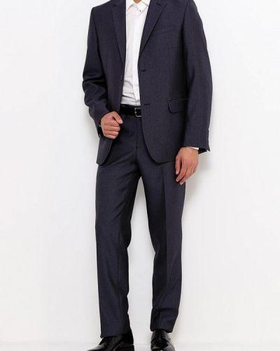 Костюмный серый костюм классический Stenser