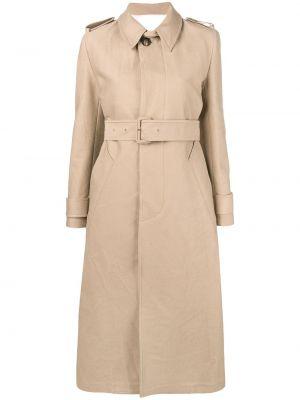 Пальто с воротником с карманами Ami Paris