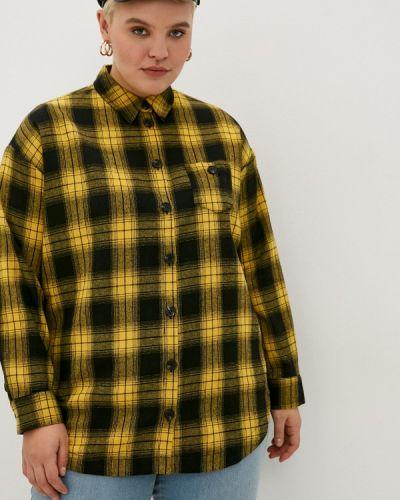 Желтая рубашка с длинными рукавами Studio Untold