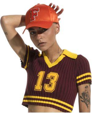 Оранжевая кепка Puma