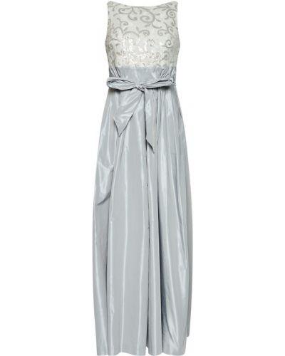 Szara sukienka wieczorowa Lauren Ralph Lauren