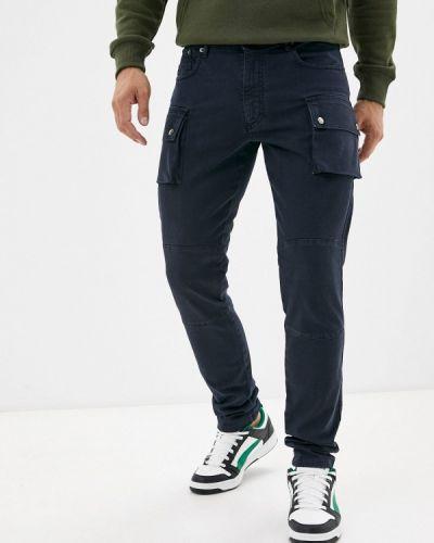 Синие брюки летние Angelo Bonetti