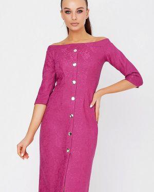 Вечернее платье осеннее розовое Seventeen