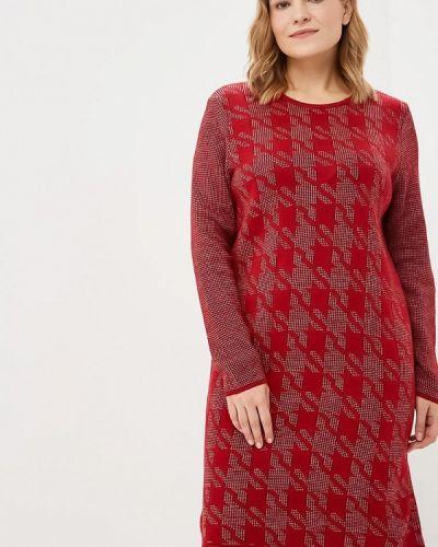 Платье - красное Milana Style