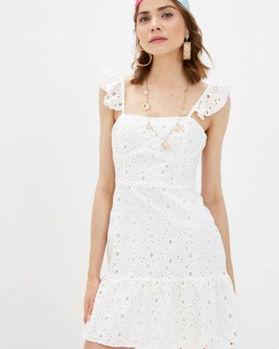Белый сарафан Trendyol