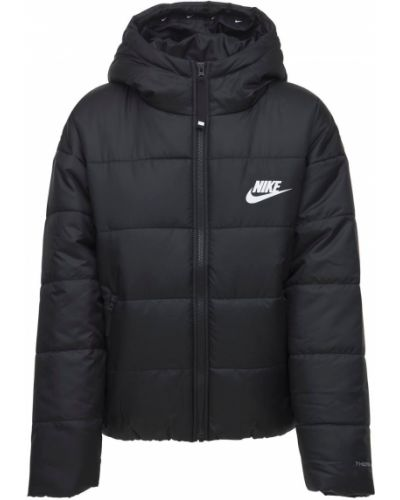 Черная куртка с карманами Nike