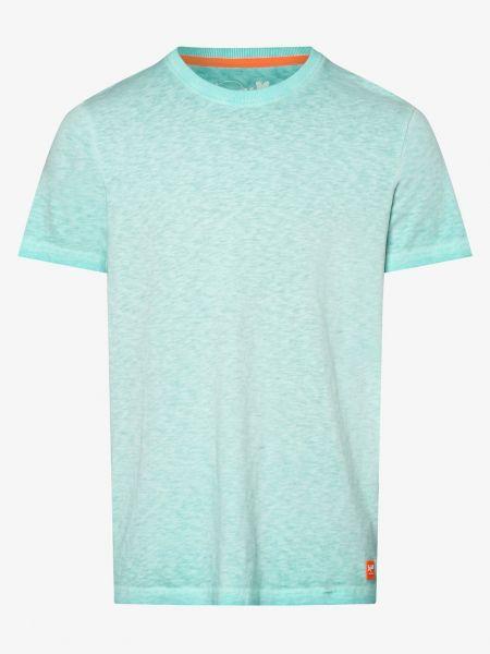 Koszula dzinsowa zielona niebieski Denim By Nils Sundström