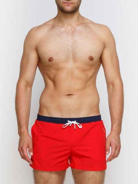 Пляжные шорты красный Garcon Francais