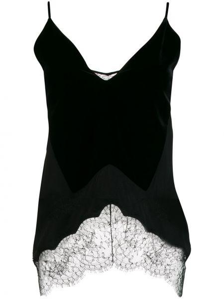 Bluzka jedwabna koronkowa Givenchy