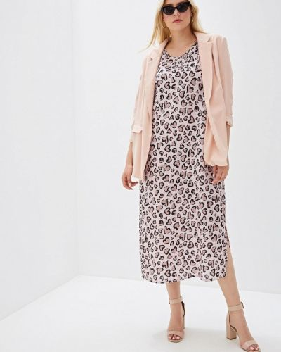 Платье розовое платье-сарафан Svesta