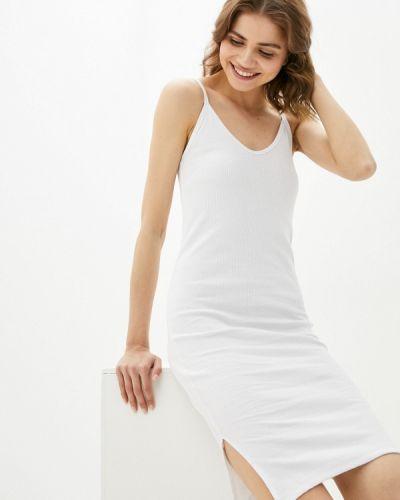 Белое платье Pink Frost
