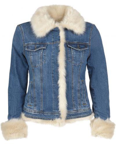 Куртка осенняя синий Liu Jo