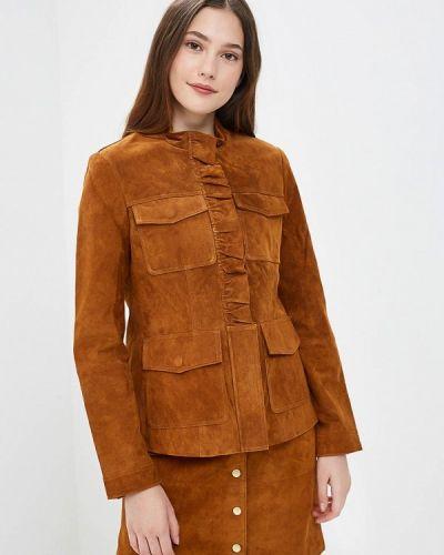 Кожаная куртка - коричневая Trucco