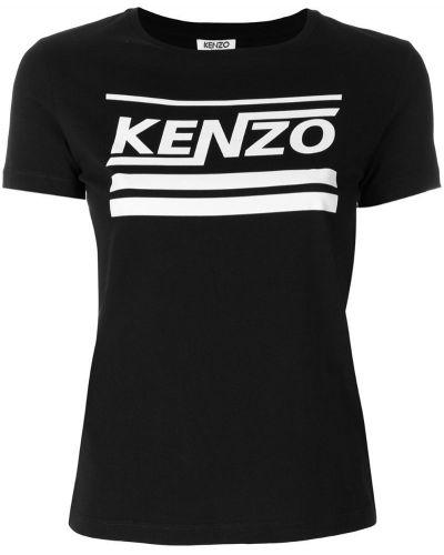 Футболка с логотипом прямая Kenzo