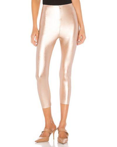 Biznes włókienniczy spodnie capri złoto Commando