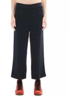 Укороченные брюки свободные из вискозы The Row