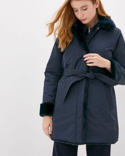 Утепленная синяя куртка Geox