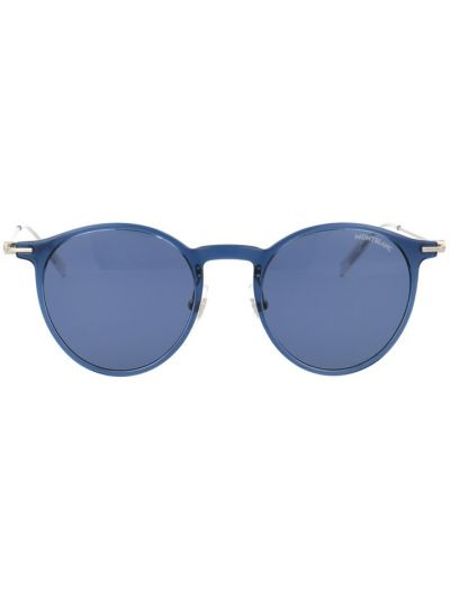 Niebieskie okulary Montblanc
