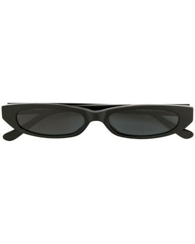 Солнцезащитные очки с логотипом черные Roberi & Fraud