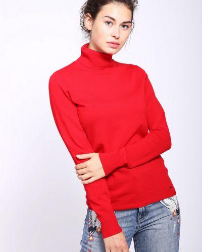 Пуловер красный Taifun