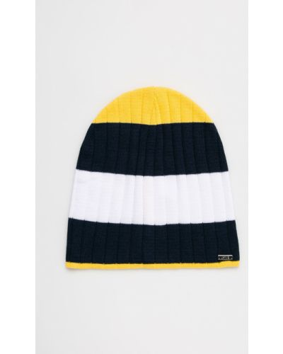 Зимняя шапка облегающий желтый Jamiks