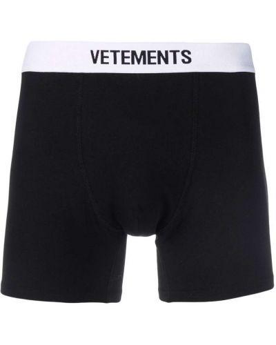 Белые хлопковые носки Vetements