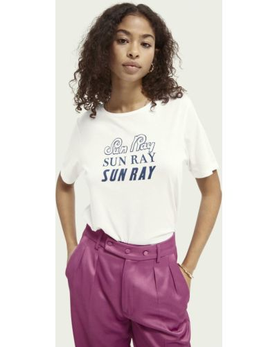 Повседневная футболка Scotch&soda