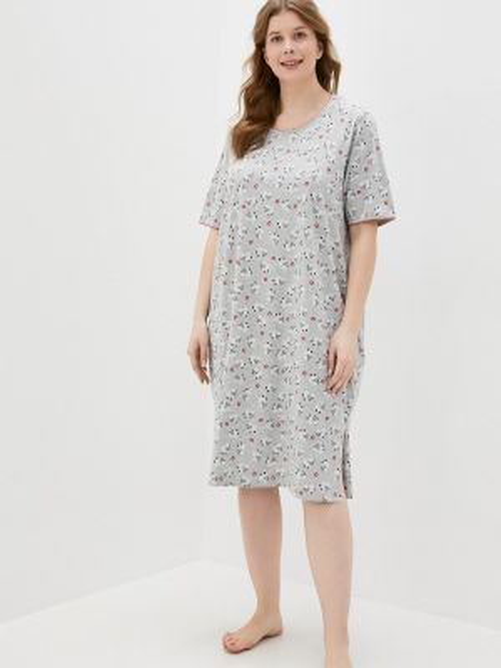 Платье - серое Ulla Popken