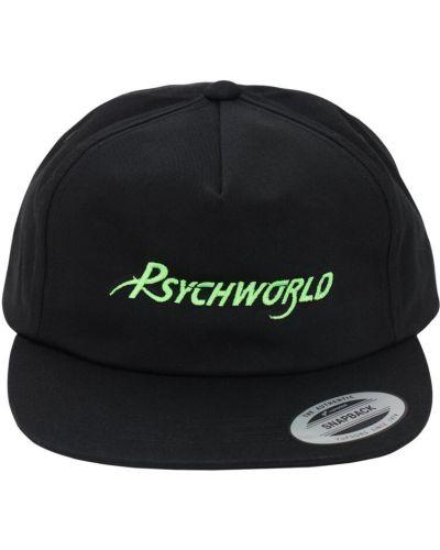 Czarna czapka z siateczką Psychworld