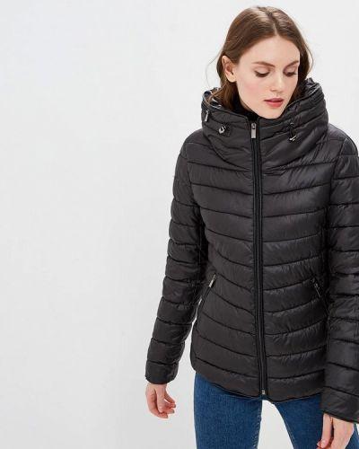 Утепленная куртка демисезонная черная Zuiki