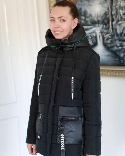 Куртка с капюшоном - черная Vanqils
