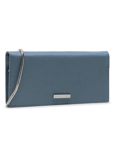 Niebieski portfel oversize Gino Rossi