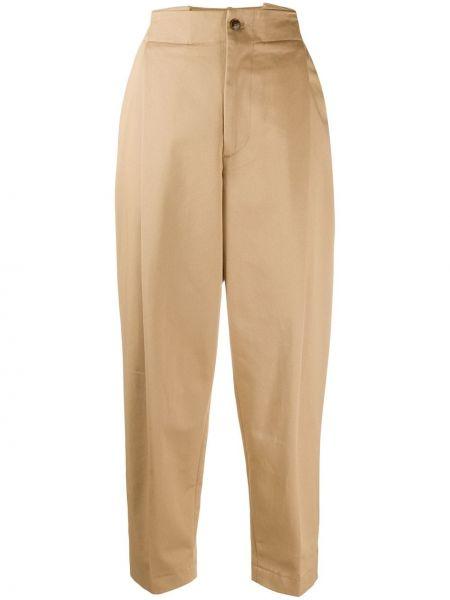 Укороченные брюки зауженные с поясом Barena