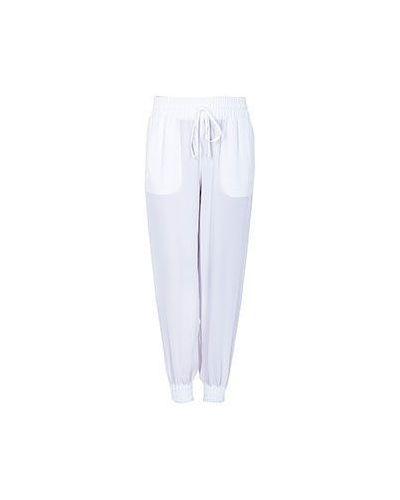Спортивные брюки белые Blugirl