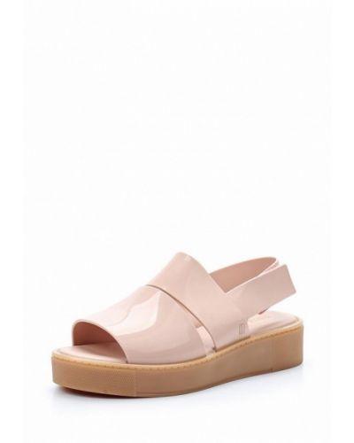 Розовые спортивные сандалии Melissa