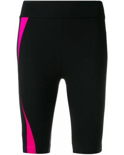 Спортивные шорты компрессионные черные No Ka' Oi