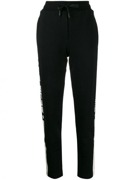 Sportowe spodnie z kieszeniami z mankietami Dolce And Gabbana