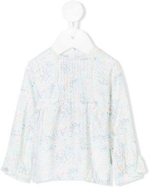 Белая блуза из вискозы Tartine Et Chocolat