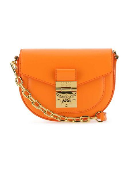 Pomarańczowa torebka Mcm