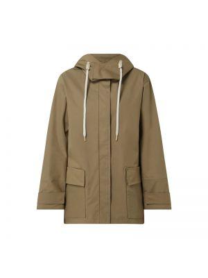 Zielona kurtka z kapturem bawełniana G-lab