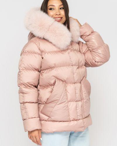 Пуховый пуховик - розовый Sifurs