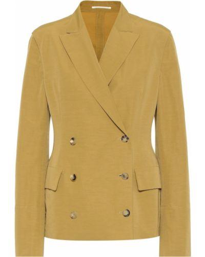 Желтый пиджак винтажный Golden Goose