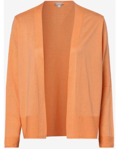 Pomarańczowy garnitur bez zapięcia dzianinowy Street One