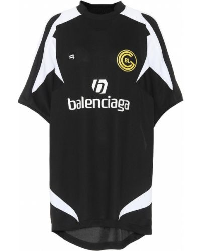 Czarny koszula Balenciaga