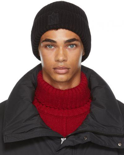 Шерстяная шапка бини - черная Mackage