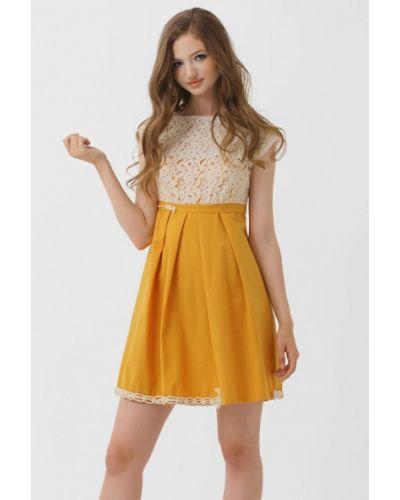 Платье - желтое Ано
