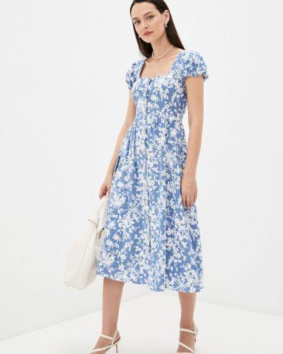 Платье - голубое Springfield