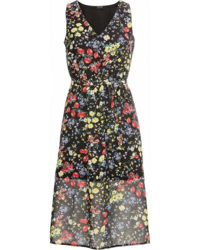 Летнее платье шифоновое облегающее Bonprix