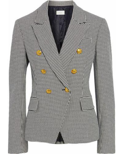 Черный пиджак двубортный с карманами A.l.c.